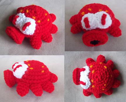 Red Octorok Amigurumi