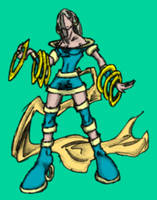 Ajnir, Ring Mistress by MadGoblin