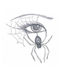 Spider Eye by MarissaWalker