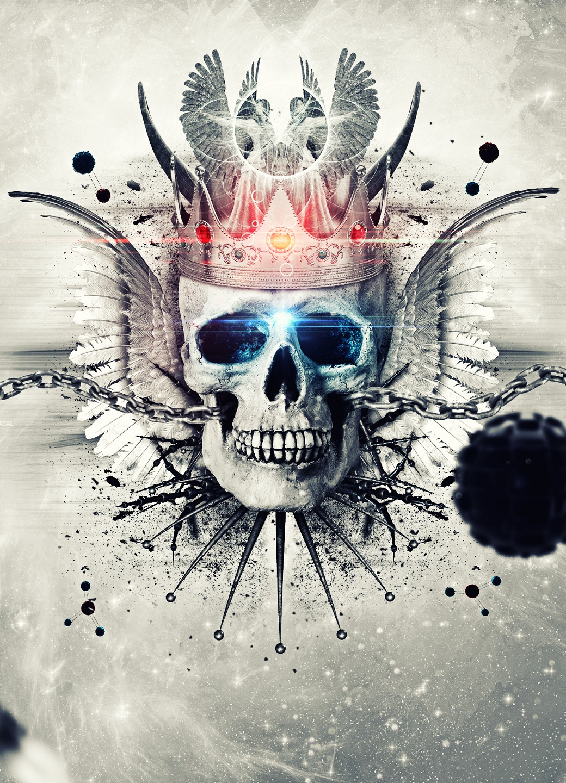 Skull is the King by JaguarProd