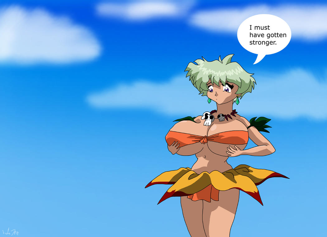 breast growth in jungle de ikou