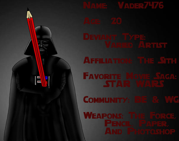 vader7476's Profile Picture