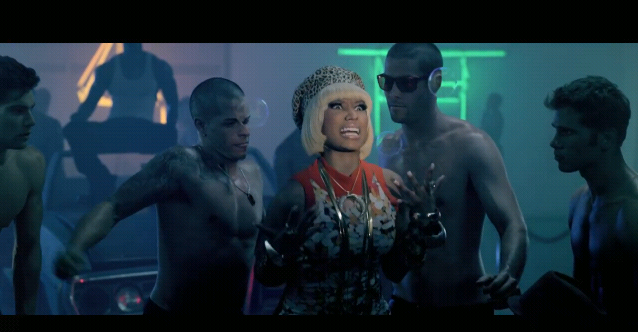 Video 'Give Me All Your Luvin' (Feat. Nicki Minaj & M.I.A.) Nicki_minaj_funny_face_10_by_1lugia_hollow0-d3r7dsp