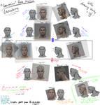 Face Structure Variations (caucasian)