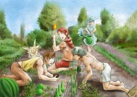August 22 Garden by Lumenox
