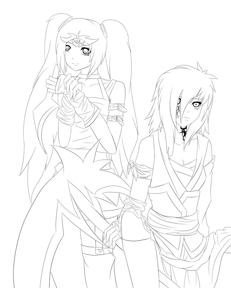 OC: Demonic Sisters by Dark-Angel-Misa