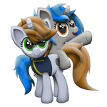 FoE Vector (Homage and Littlepip)