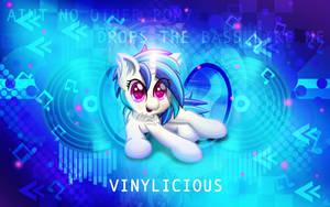 Vinylicious Wallpaper Edit by Sol-R