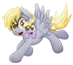 Derpy and Dinky [vector]