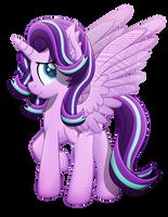 Alicorn Glimmer (Vector) by Sol-R