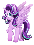 Alicorn Glimmer (Vector)