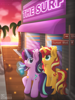 Sunset Boulevard by Sol-R