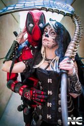 Marvel Deadpool and Death Cosplay by neekocosplay