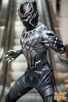 Black Panther Cosplay w/ Blerd Vision by neekocosplay