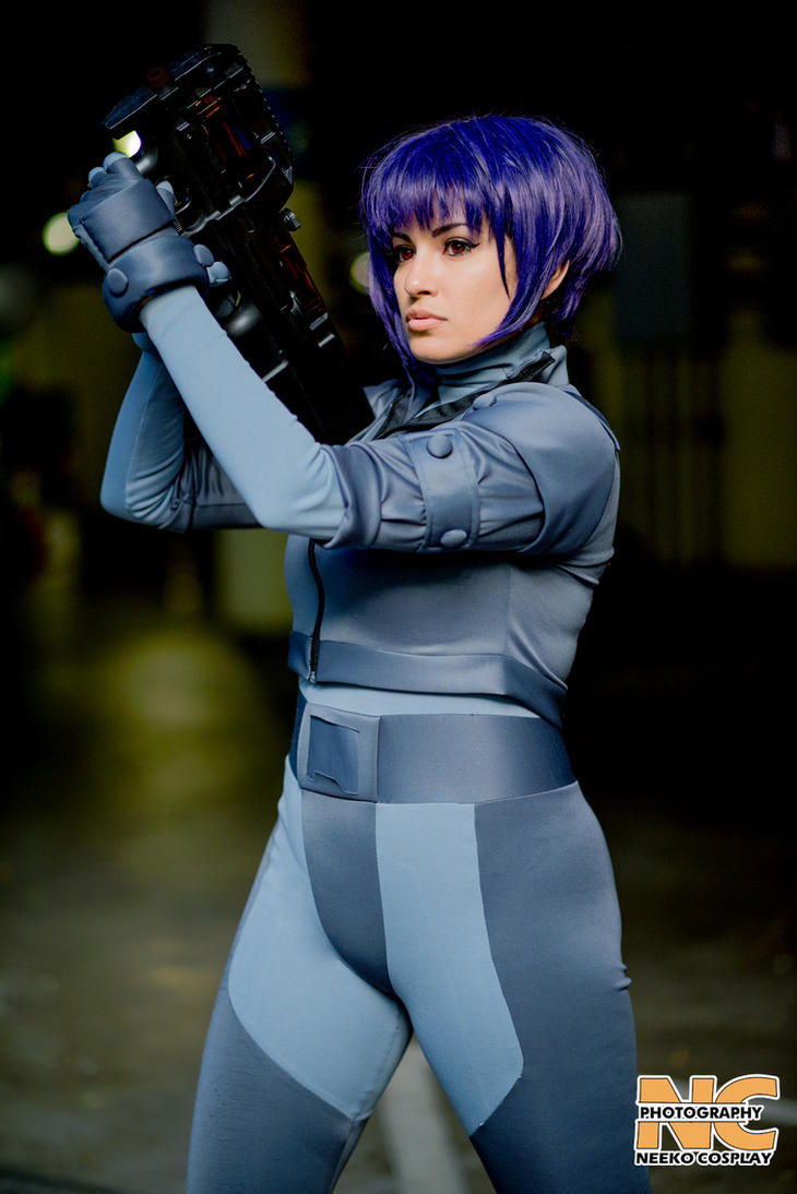 Ghost in a shell cosplay