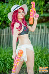 Pool Party Miss Fortune cosplay by Misa Lynn CLP