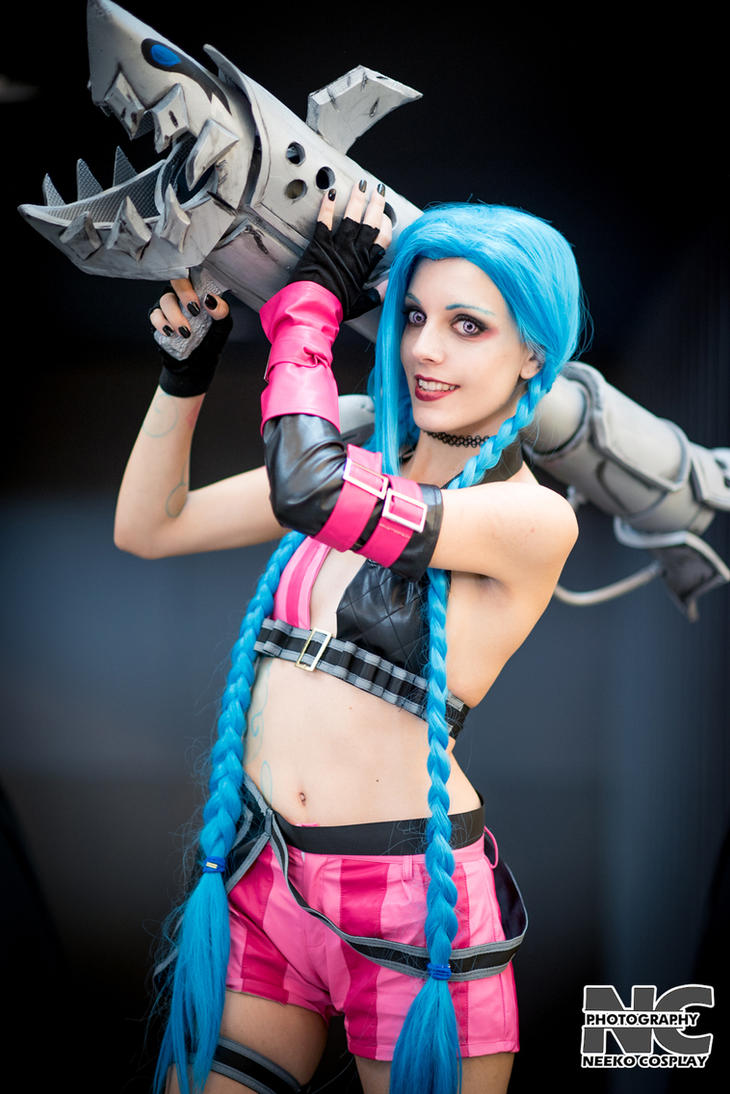 League of Legends Jinx Copslay by Vanille Cosplay by neekocosplay