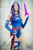 X-Men Psylocke Cosplay by Anatyla by neekocosplay