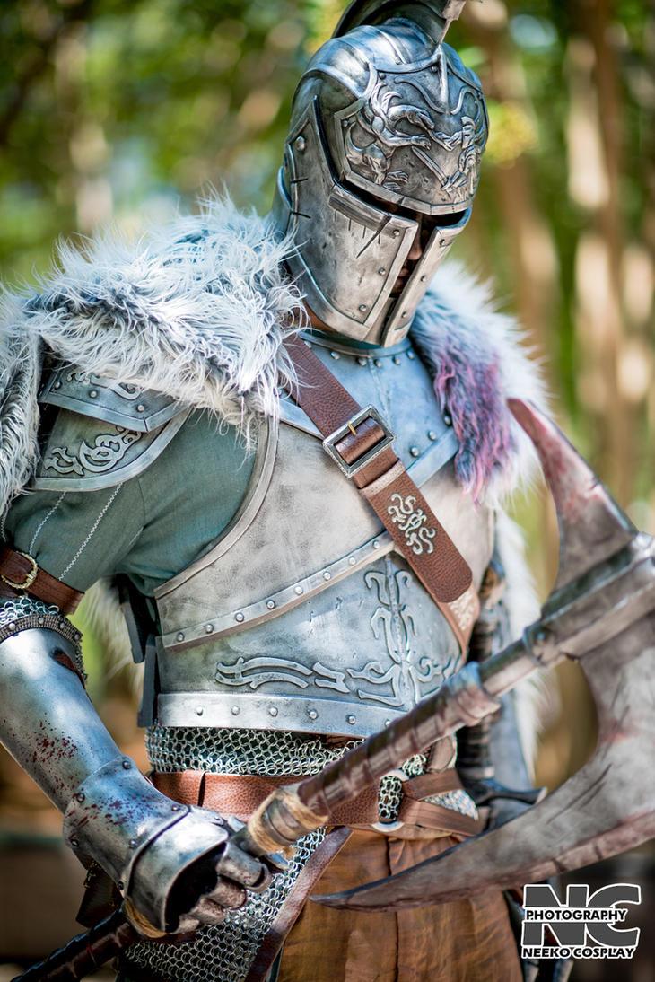 Dark Souls Faraam Armor by xmachina Cosplay by neekocosplay