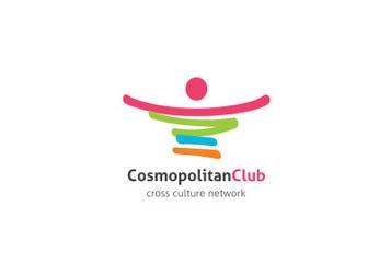 Cosmopolitan-Club logo by khawarbilal