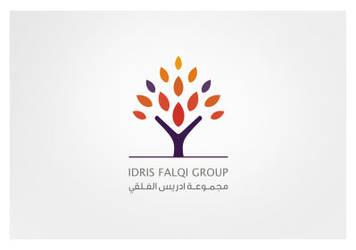 Arabic Logo Idris Falqi Group