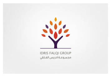 Arabic Logo Idris Falqi Group by khawarbilal