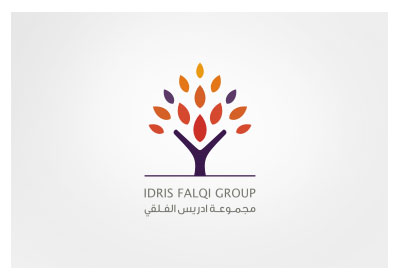 Arabic Logo Idris Falqi Group by khawarbilal