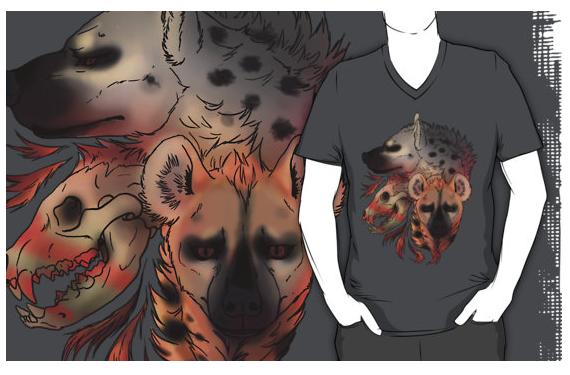 Hyena Shirt by hisui-hyena