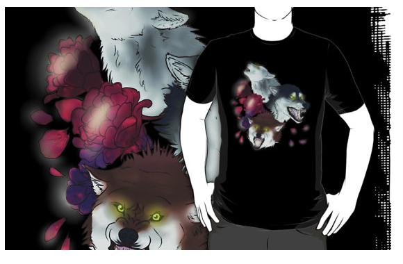 Wolves Shirt by hisui-hyena