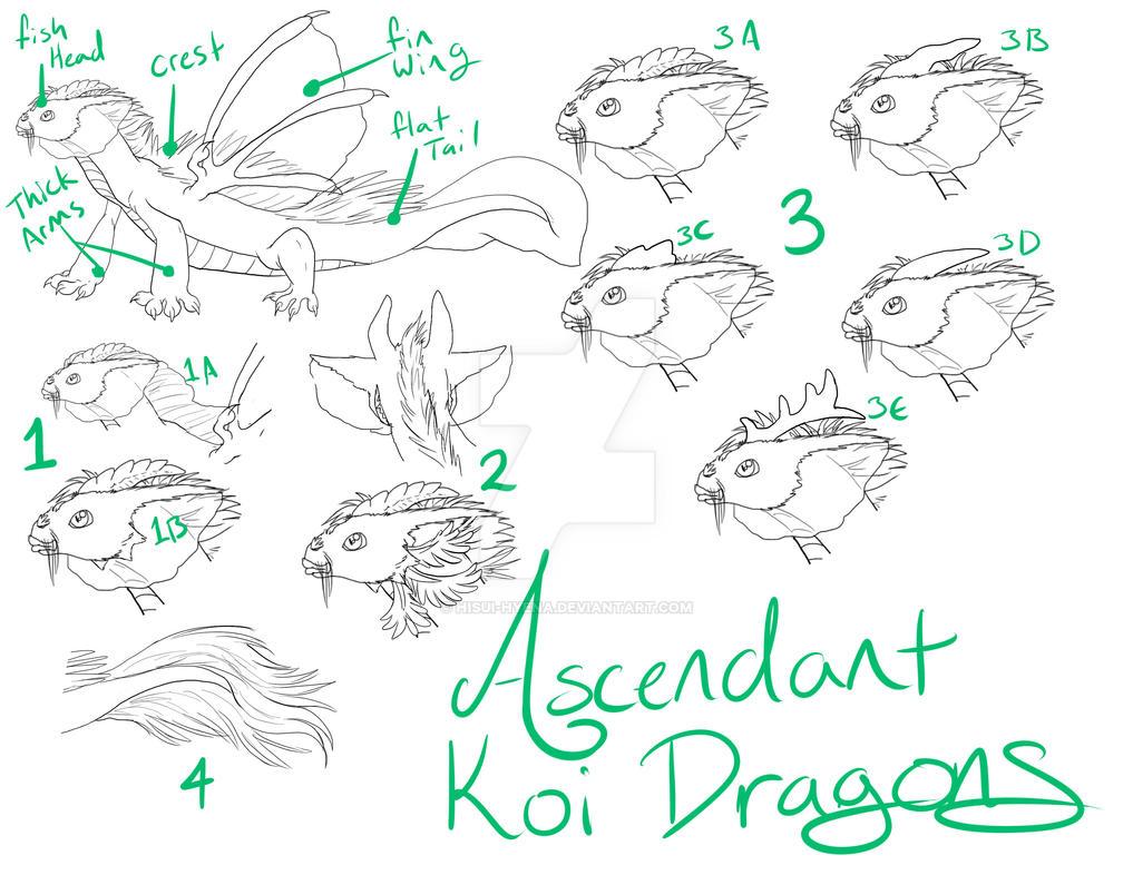 Ascendant Koi Quick Ref Guide by hisui-hyena