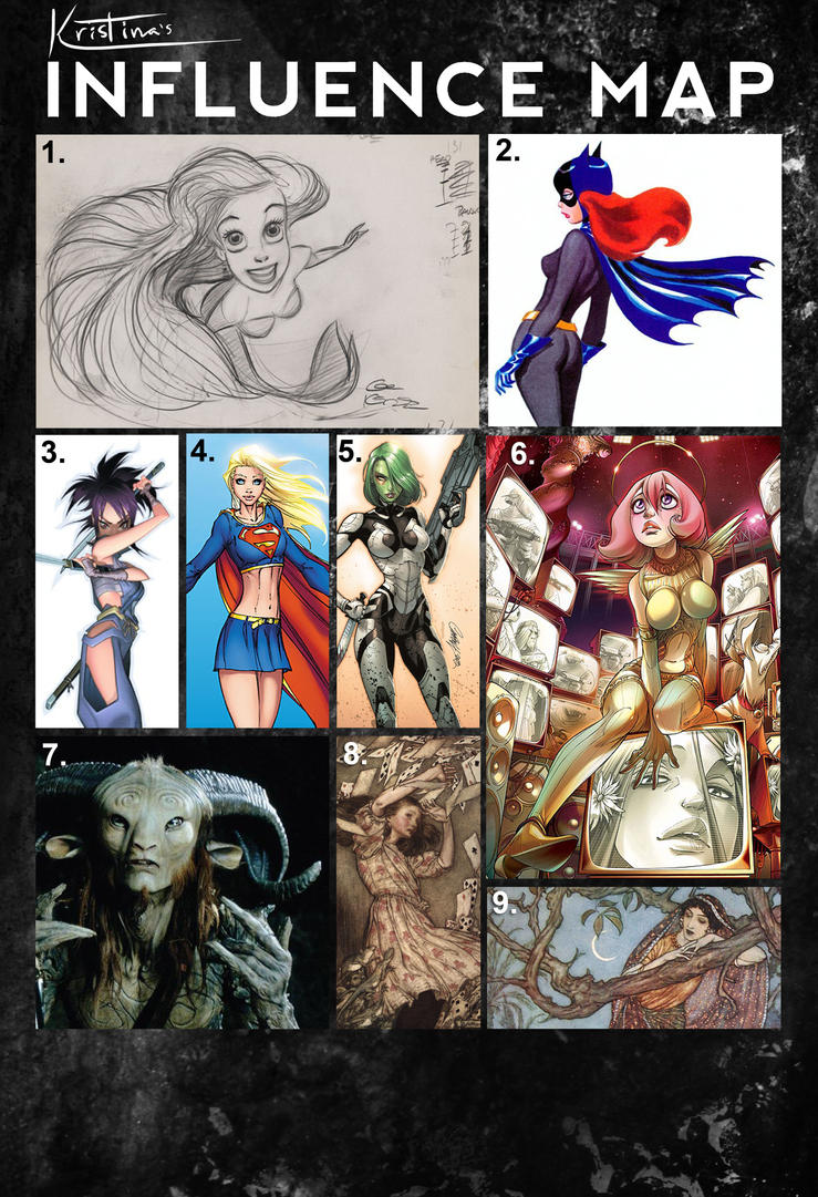 Influence Map by Cra-ZShaker