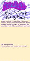 Hetalia Crack Pairing Meme by ArticNorth