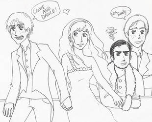 Fleur's Wedding by mangawings