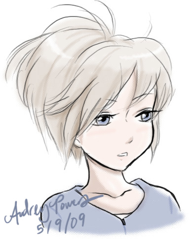 Short Haired Girl By Yunyin On DeviantArt