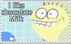 I like Chocolate Milk stamp by Yunyin