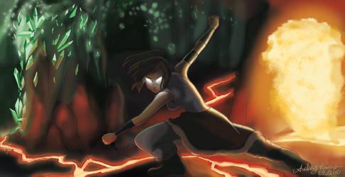Avatar Korra by Yunyin