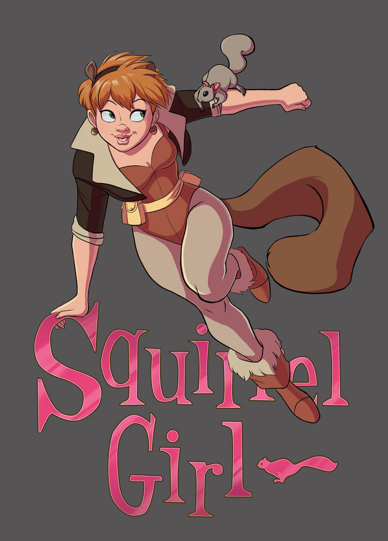The Unbeatable Squirrel Girl by Yunyin