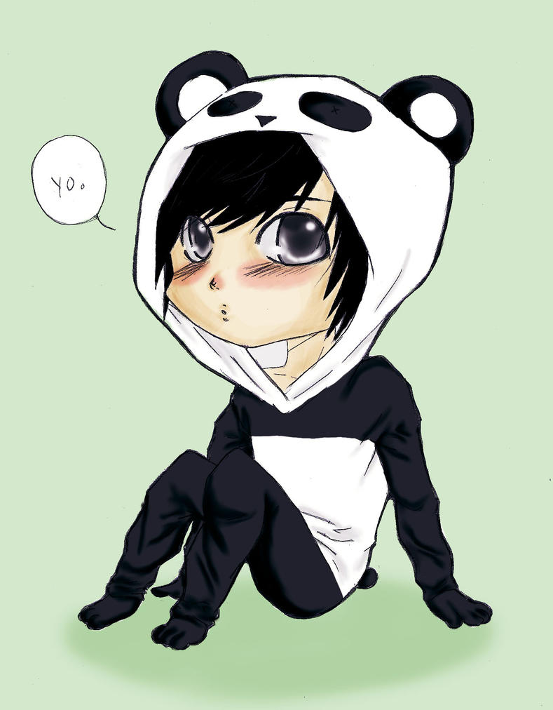Panda bear for makaiash by garibenrock on deviantart - Panda anime wallpaper ...