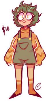 pumpkin girl (CLOSED )