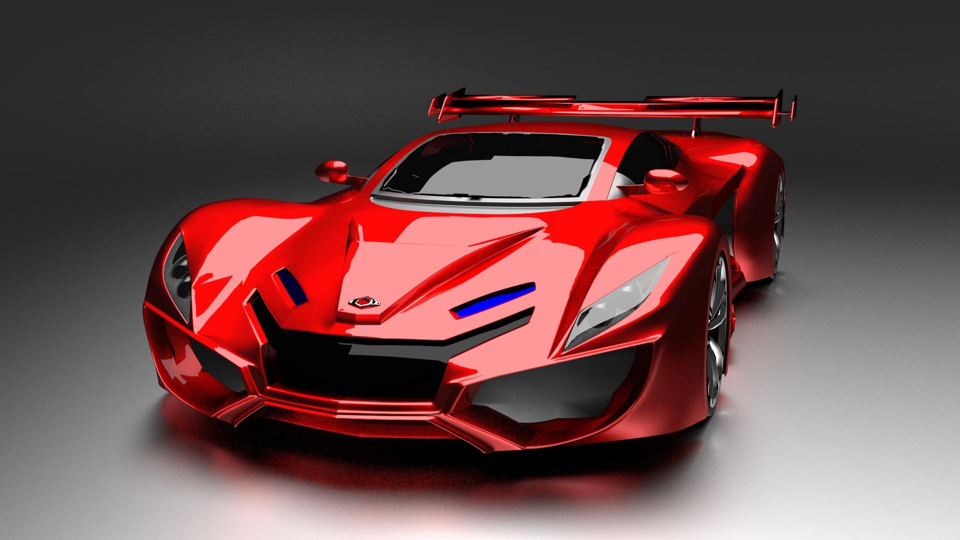 GTV K4 Sports Car by JeFF3Dee on DeviantArt