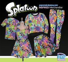 Splatoon Shirt, Leggings, Skirt, Sweatshirt, Dress by ShyDaniLamb