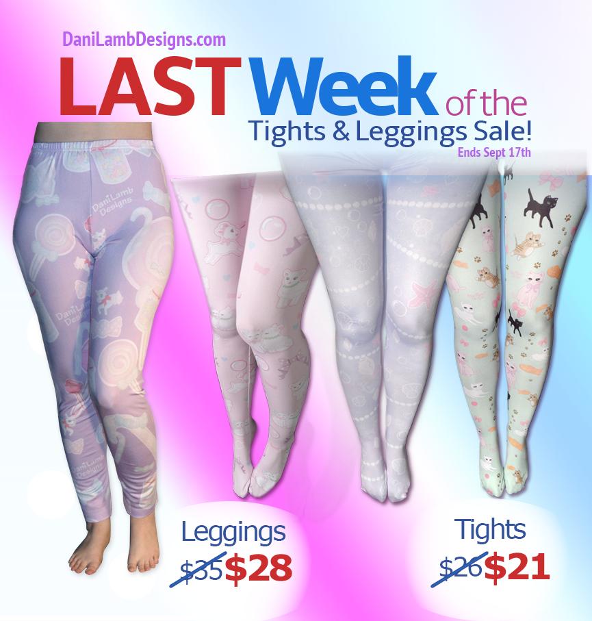 Fairy Kei Tights Kawaii Leggings Sale Last Week by ShyDaniLamb