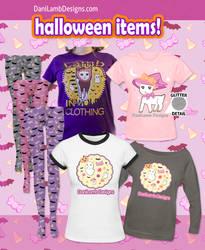 Creepy Cute Halloween Shirts and Tights! by ShyDaniLamb