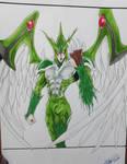 Elemental Hero Avian / Yu-Gi-Oh! GX by HBitwill