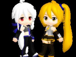 D-Series Haku and Neru Download by Clarphia