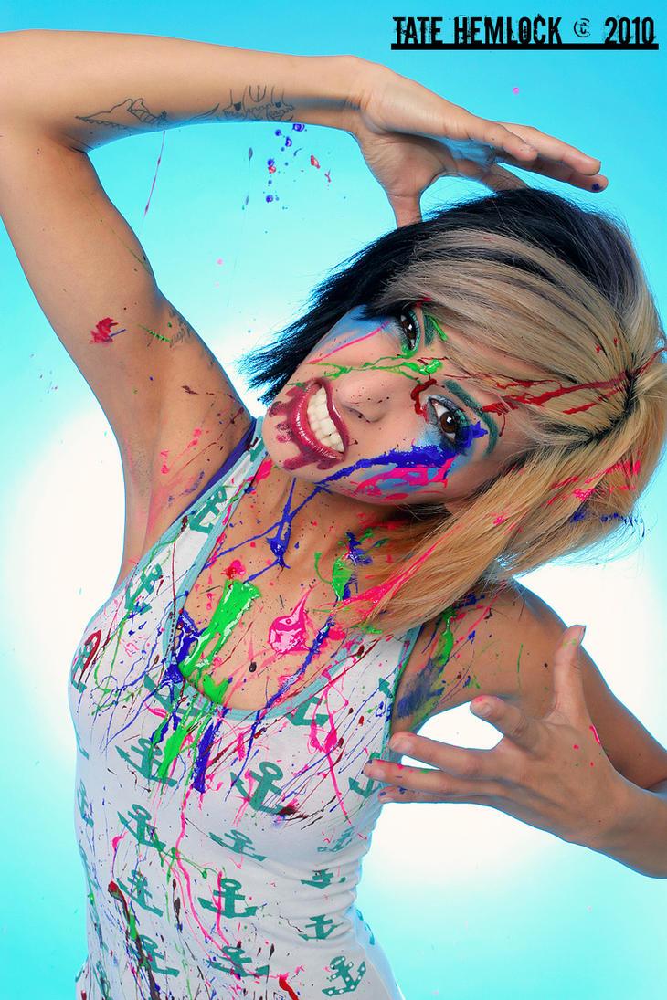 I am the Rainbow01 by BevZoe