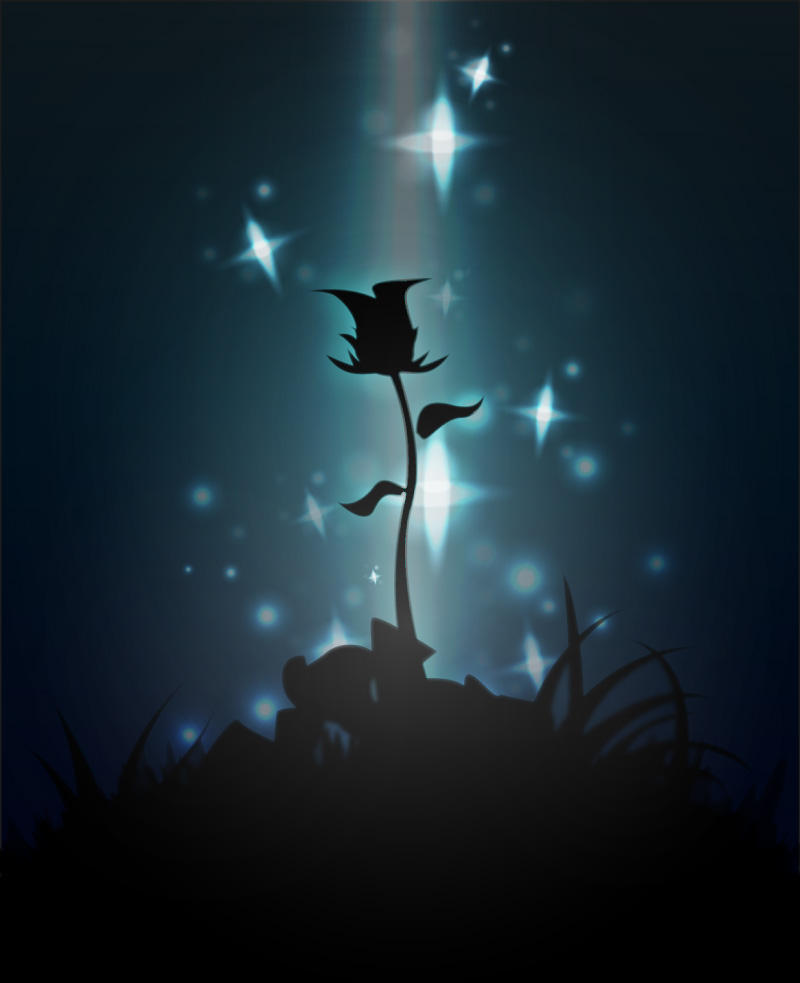 A rare flower