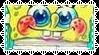Spongebob Stamp by allivegotarerainbows