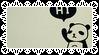 Cute Panda Stamp by allivegotarerainbows