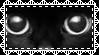 Black Cat Eyes Stamp